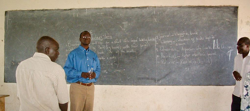 African school room