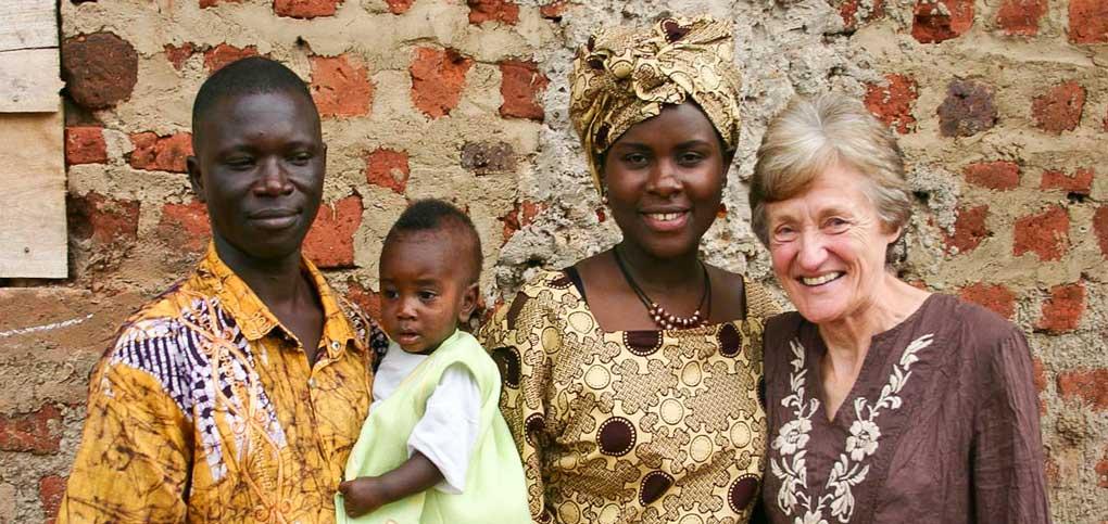 Photo of Margaret Howson and Abbey Mugagga