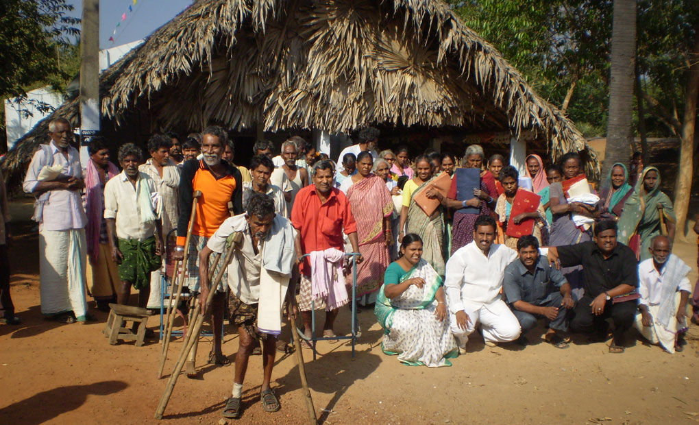 group of people in India