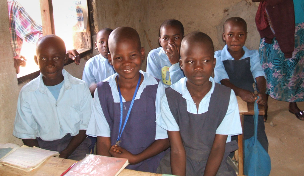 schoolchildren in Kenya