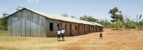African school building