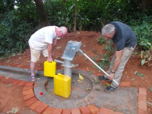 The new well is now working
