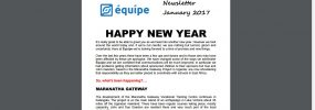 Equipe Newsletter January 2017